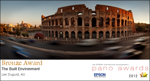 Rome - Italy - Epson International Pano Awards 2012