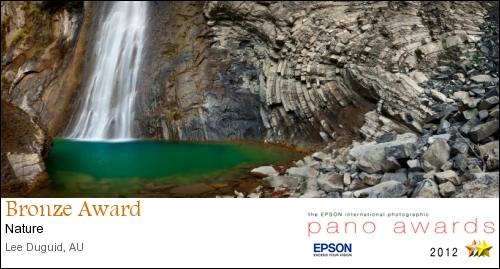Waterfall - Spain  - Epson International Pano Awards 2012