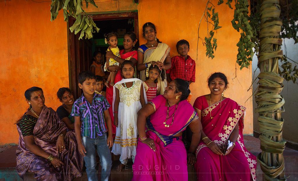 large family india