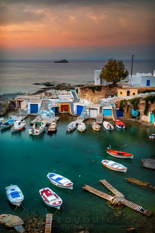 Mandrakia, Milos, Greece