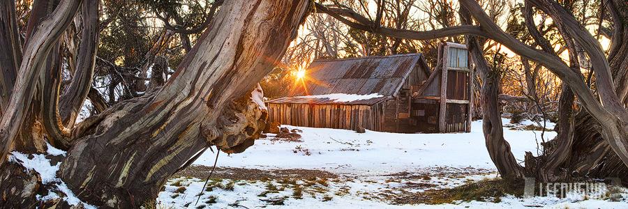 Wallaces Hut, Falls Creek, Victoria, Australia