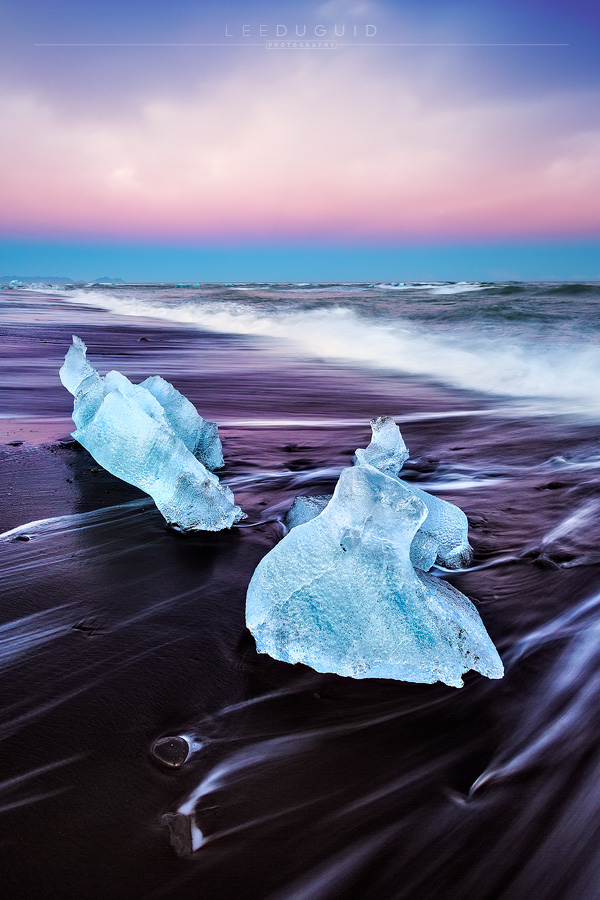 Breidamerkursandur, Iceland